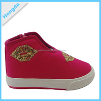 Fashion festive casual kids shoes for girl