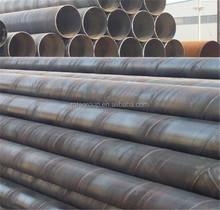 Spirally welded steel pipe