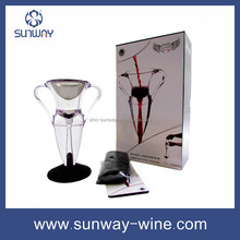 Small Order Accepted Glass Red Wine Decanter with FDA