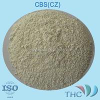 rubber accelerator CBS(CZ) Soluble in benzene, methylbenzene, Chloroform, carbon disulfide methylene chloride