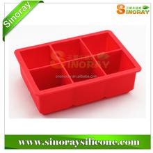 Customized silicone ice cube tray