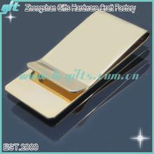 2014 Hot sell plating gold Money Clip/nickel clip/cash clip