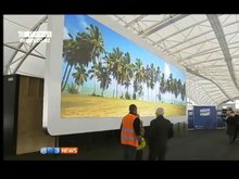 2012 hottest sale Product P10.416 fullcolor advertising rental outdoor led display