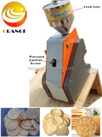 Korea Hot Sale Crispy Snack Food Rice Cake/Puffed Rice Cake Making Machine