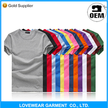 More than 10 year experience direct Factory Cheap OEM Cotton Custom Printed T-shirt