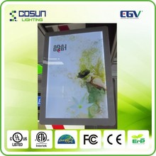 slin light box canvas picture with led light china