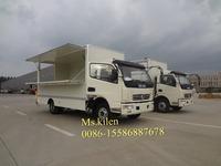 DFAC RHD 5-8tons van truck mobile shredding truck mobile workshop truck