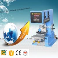 shenzhen mug pad printer LC-TPM1-100 tampo printing machine for sale toy&pen