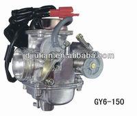 GY6-150 motorcycle carburetor parts