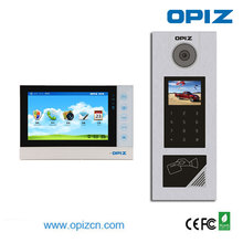 TCP/IP video door phone intercom/Smart Home automation systems video phone for buliding