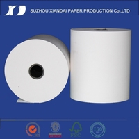 2015 popular make thermal paper thermal paper roll 110mm two color thermal paper