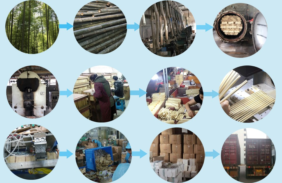 Небольшой БАРБЕКЮ Сушеные Круглые Натуральные Бамбуковые Палочки Для Продажи