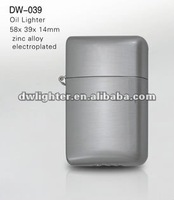 metal case with oil lighter