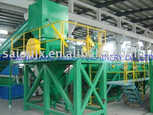 PE film flakes washing plant recycling line