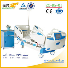 Five Function Electric ICU Hospital Beds with LCD for medical Sale