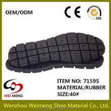 wear-resisting Male Rubber Sole