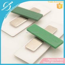 2015 jinhua yiwu laser stainless steel name tag magnet manufacturer
