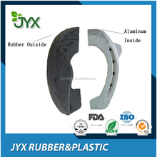 Rubber horse shoes for racing skidproof rubber horseshoe