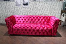 Italian Luxury Style Wooden Fabric Sofa Set Design, Sofa Furniture, Sectional Sofa