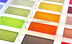 Cheap hot sell new material abs a4 transparent colored plastic