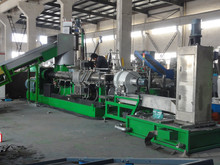 plastic pellet making machines for film/bag recycling and granulating