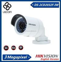Original Hikvision 3.0MP Wireless IP Camera Outdoor wifi CCTV Camera DS-2CD2032F-IW