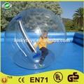 Loco juego de agua!! Dia 2m inflable del agua caminando pelota, inflable gigante claro bola del agua