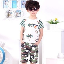 C81922A Boys short sleeve sets/summer clothing set for boy/hot sale boy summer clothes