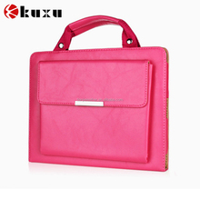 New arrival high quality portable business style leather case for iPad mini2