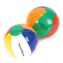 Promotional PVC Inflatable Sports Beach Ball with customized print, toy ball, game gifts outdoor