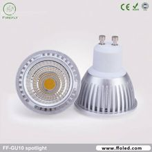 Dimmable gu10 base Ra 90 gu10 halogen lamp 10w for commercial lighting