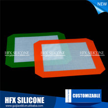 Factory price custom silicone mat nonstick silicone baking mat fiberglass heat concentration for pastry baking