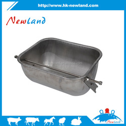 2015 hot sales new type stainless steel pig feeding trough pig drinking trough