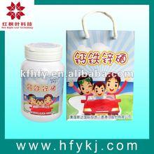 calcio hierro selenio suplementos de zinc comprimidos masticables