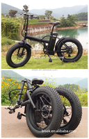 e folding fat electric bicycle mopeds with pedals