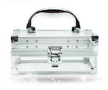 Mini transparent acrylic cosmetic case for your quality life RZ-SA-024