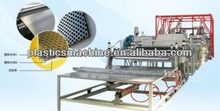 Plastic honeycomb sheet machinery, PP cellular board making equipment
