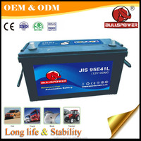 Good cca perfprmance auto 95e41r 12v 100ah car battery