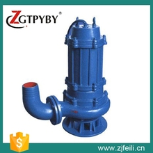 cast iron WQ 220v submersible pumps electric water pump machine