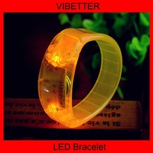 New Invention !new product glow in dark slap bracelet, glow in dark slap bracelet made in China