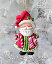 Hand-painted 80mm ball shaped christmas ornaments supplies