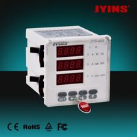 AC digital led panel meter digital electric meter works (JYS-6S4)