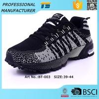 Shoe Manufacturing Companies 2015 Fashion Flyknit Sport Shoes Men