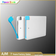 High Quality Credit Card Mini Powerbank made in japan
