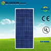 Bluesun TUV CE ISO UL listed high efficiency sunpower pv poly 150w solar modules