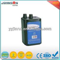 6V 4R25 zinc carbon european battery