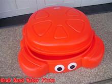 Kids plastic plate sand water play