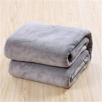 Super Soft double side plush blanket