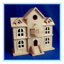 High quality handmade mini wooden doll house