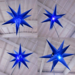 Used inflatable party ceiling LED lighting decoration /decoration inflatable